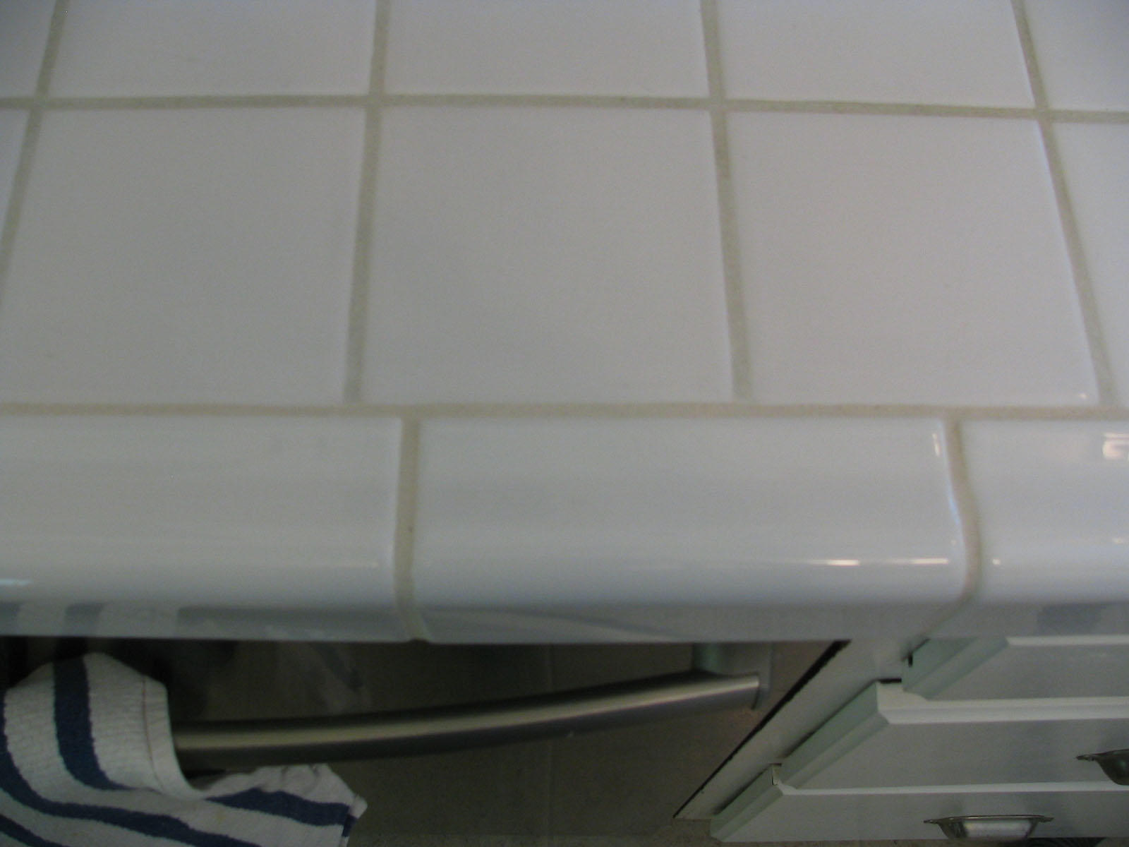 Top View Of Finished Dishwasher Area