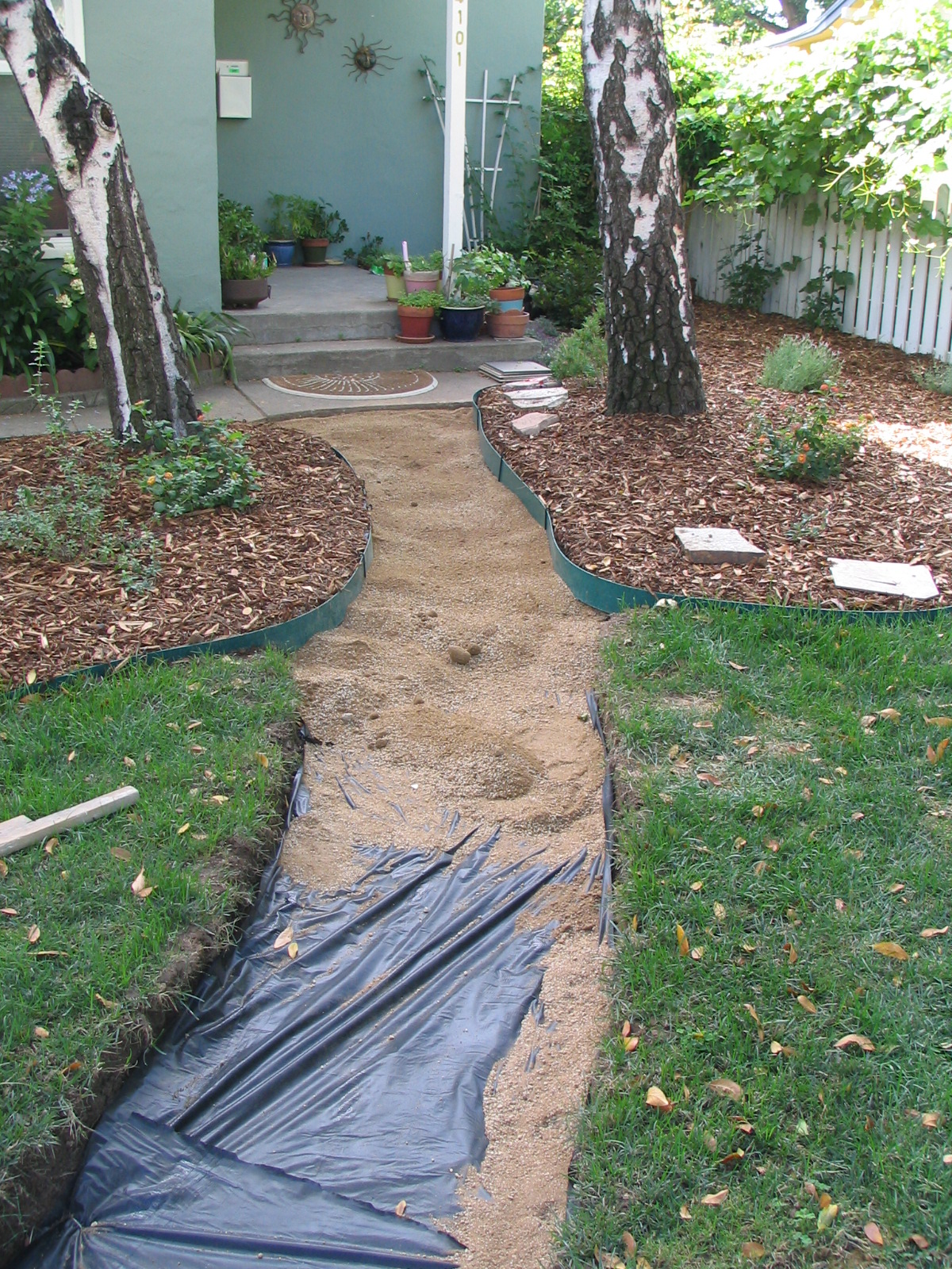 Flagstone Path Designs : Photos of our tile installations in the sacramento area